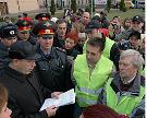 Казанцы вышли на марш протеста