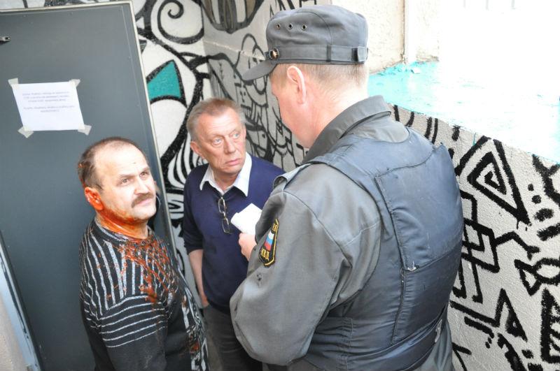 Потасовка на общем собрании КПК «Мемориал» в Сыктывкаре