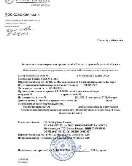 Вступило в силу решение о признании Ассоциации «Голос» «иностранным агентом»