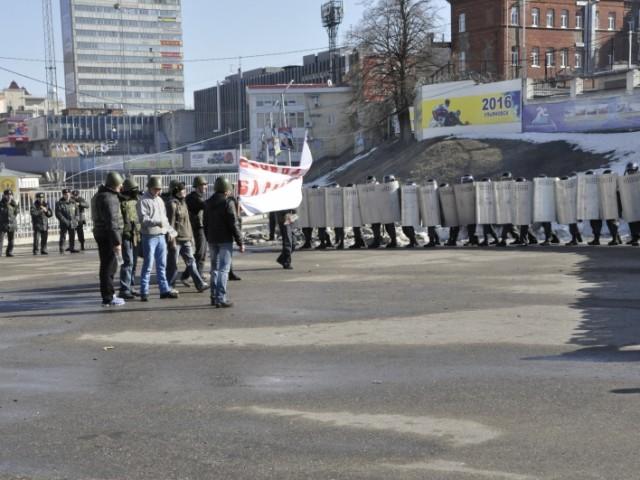 Ульяновская полиция отработала действия при возникновении массовых беспорядков