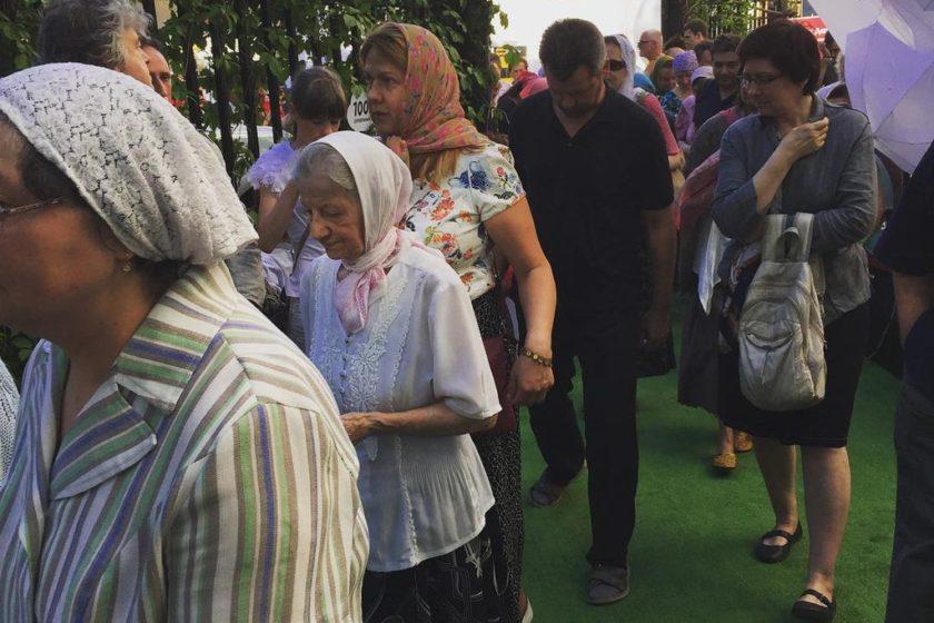 """В Москве верующие прервали концерт """"Серебряного дождя"""", который """"мешал молиться"""""""