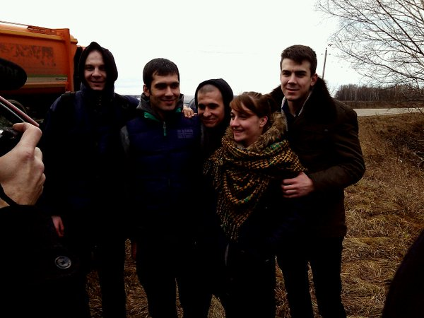 """Вышел на свободу """"узник Болотной"""" Андрей Барабанов"""