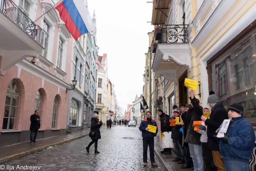 Am 7. Februar haben mehrere Solidaritätskungebungen für Ildar Dadin stattgefunden