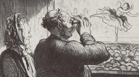 Оноре Домье. Из цикла театральных карикатур. 1864. Источник: zeno.org