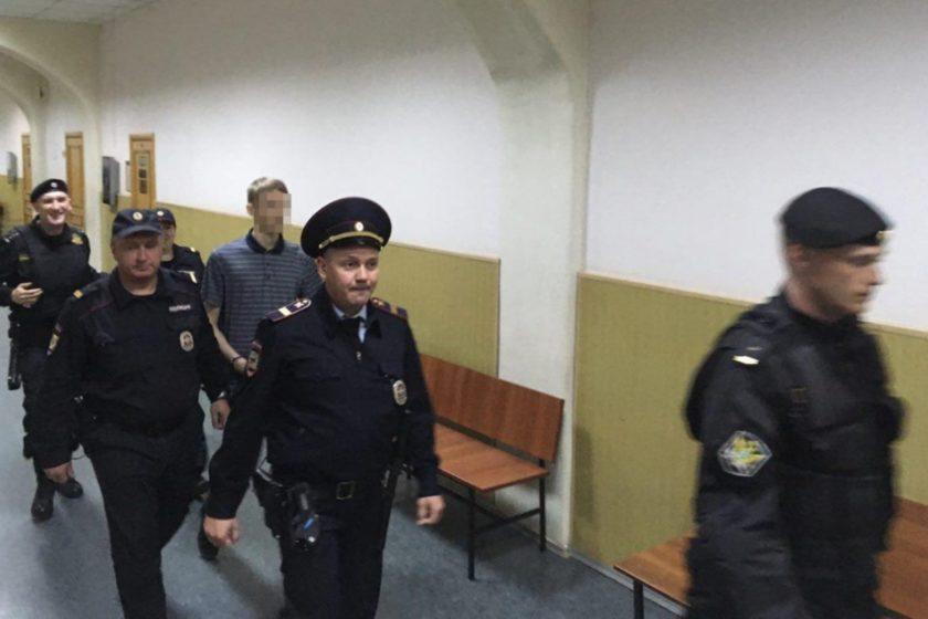 СК завершил расследование в отношении арестованного по «делу 12 июня» школьника Галяшкина