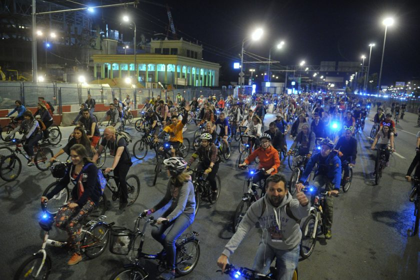 Московские власти запретили «Велоночь»