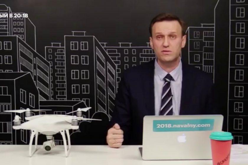 Алексея Навального задержали у подъезда его дома в Москве