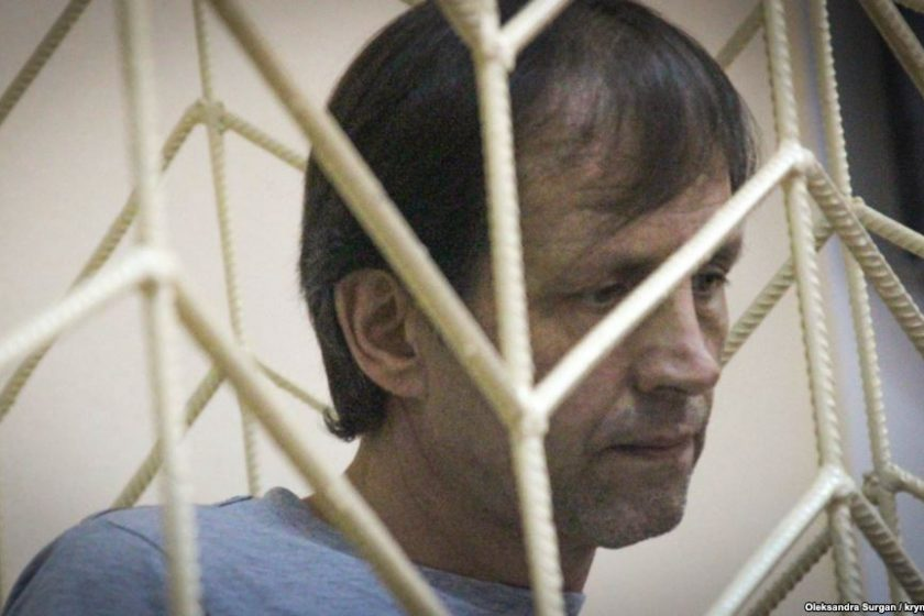 Proukrainian activist Vladimir Balukh was sentenced to five years in prison