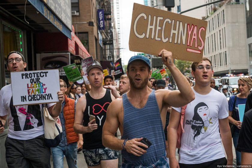 In 2017, 125 people left Chechnya because of the persecution of LGBT people