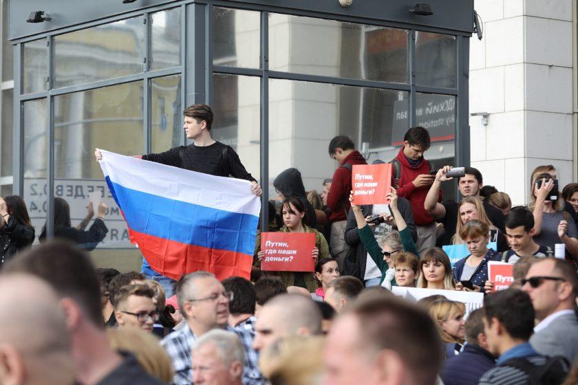 Двум участникам акции 9.09 в Москве предъявили обвинение по уголовному делу
