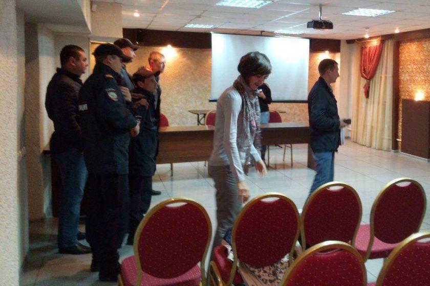 На пресс-конференцию «Открытой России» в Ульяновске приходила полиция
