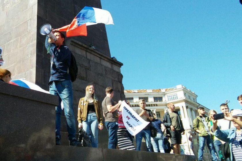 Во Владивостоке против активиста «Открытой России» возбудили два уголовных дела