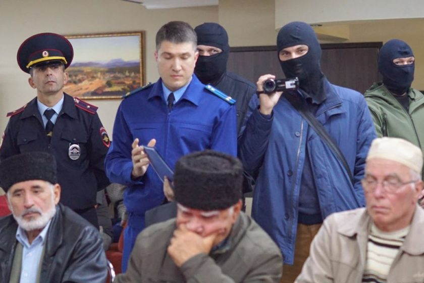 Russia launches new attack on Crimean Solidarity & lawyers defending political prisoners