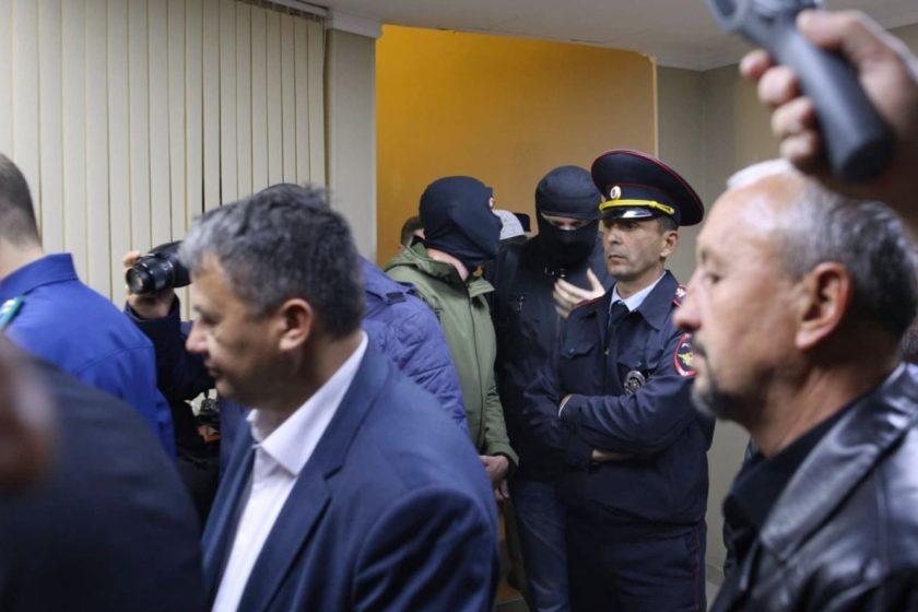 На границе между Крымом и Украиной ФСБ задерживала четырех крымскотатарских активистов