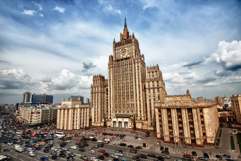 """Der russische Außenminister sagte, der Sacharow-Preis sei eine """"politisierte Entscheidung"""""""