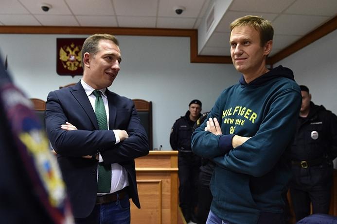 Мосгорсуд отказался отменить арест Навальному, задержанному на выходе из спецприемника