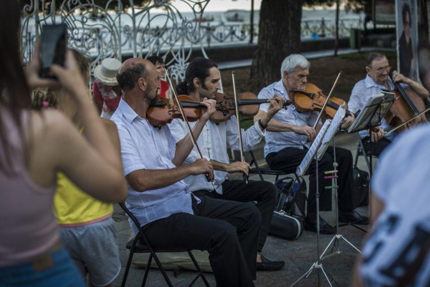 В Севастополе ввели ограничения для уличных музыкантов