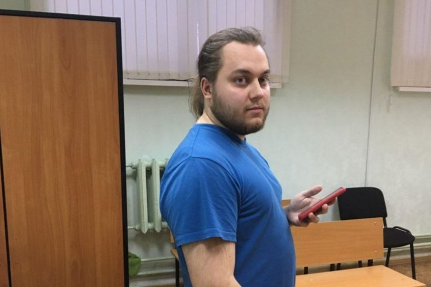 В Казани активиста «Открытой России» Дмитрия Егорова арестовали на 12 суток