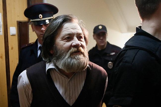 Правозащитник Сергей Мохнаткин вышел на свободу из СИЗО в Архангельской области