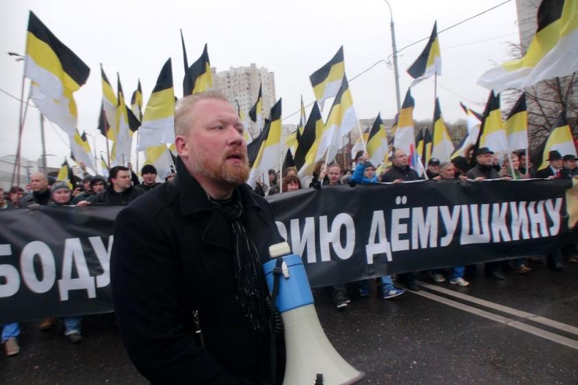 Организатора «Русских маршей» объявили в международный розыск