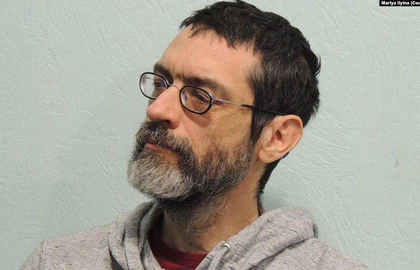 Российский активист Виктор Корб переехал в Украину