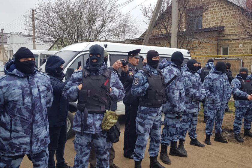 """My only crime is that I am a Muslim"": mass terrorism arrests hit Crimean Tatar solidarity campaign"