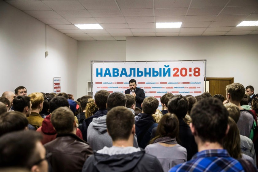 Леонида Волкова арестовали на 15 суток за акцию против пенсионной реформы в Петербурге. Он только что отбыл 20 суток из-за акции в Москве