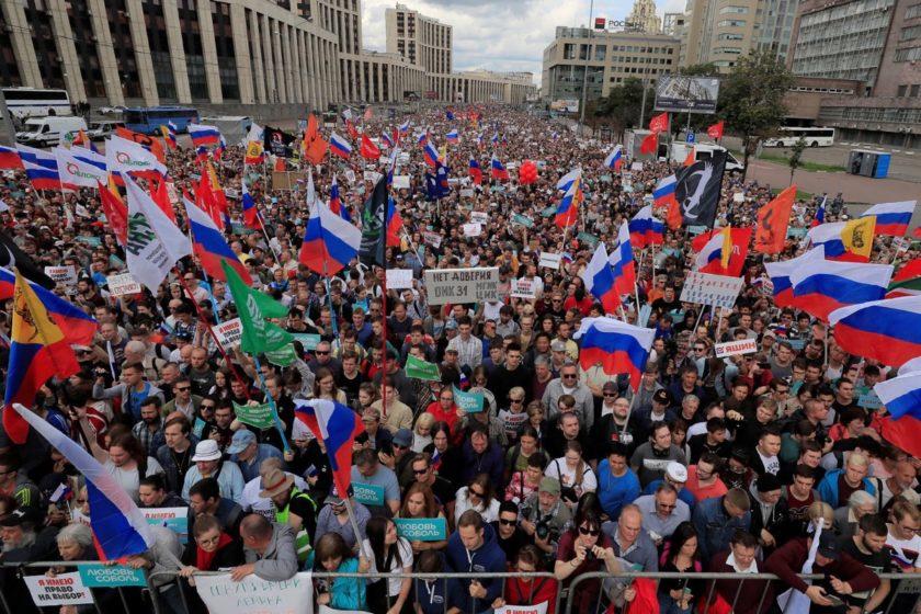 Pressemitteilung: Mehr Solidarität mit der demokratischen Zivilgesellschaft in Russland
