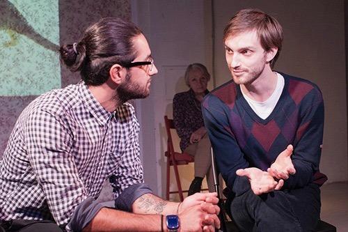 В Театре.doc нападавшие сорвали спектакль «Выйти из шкафа» о гомосексуальности
