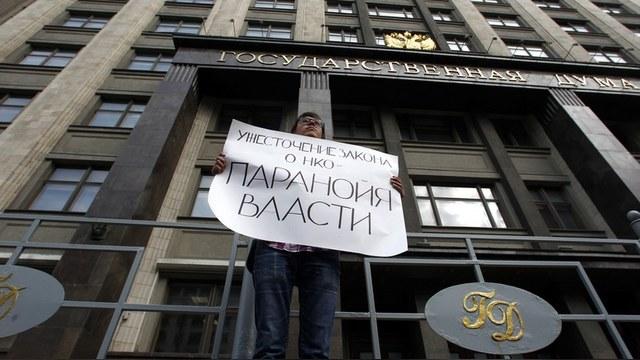 """Ergänzungen zum Gesetz zu """"unerwünschten Organisationen"""". Das wichtigste. Olga Gnezdilova, Rechtsanwältin"""